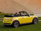 Pictures of Mini Cooper S Cabrio US-spec (R57) 2009–10