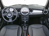 Pictures of Mini Cooper Cabrio US-spec (R57) 2010