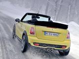 Mini Cooper S Cabrio (R57) 2009–10 wallpapers