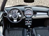 Mini Cooper Cabrio (R57) 2009–10 wallpapers