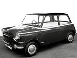 Austin Mini pre-production (ADO15) 1958 images