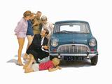 Morris Mini-Minor (ADO15) 1959–69 wallpapers