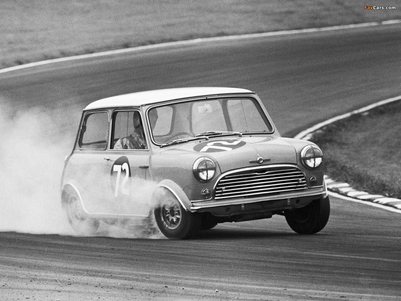 Morris Mini Cooper S Racing Car (ADO15) 1964–68 photos (1280 x 960)