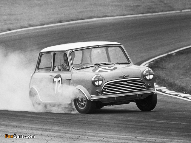 Morris Mini Cooper S Racing Car (ADO15) 1964–68 photos (640 x 480)