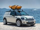 Images of MINI Cooper Clubvan Accessorized (R55) 2013