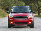 Images of Mini Cooper Countryman US-spec (R60) 2010–13