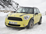 Mini Cooper D Countryman All4 (R60) 2010–13 pictures