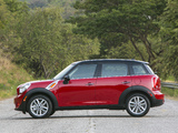 Mini Cooper Countryman US-spec (R60) 2010–13 wallpapers