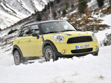Mini Cooper D Countryman All4 (R60) 2010–13 wallpapers