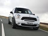 Mini Cooper SD Countryman All4 UK-spec (R60) 2011–13 photos