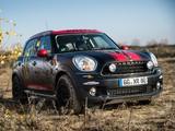 Mini Countryman Dakar Service Vehicle (R60) 2013 images