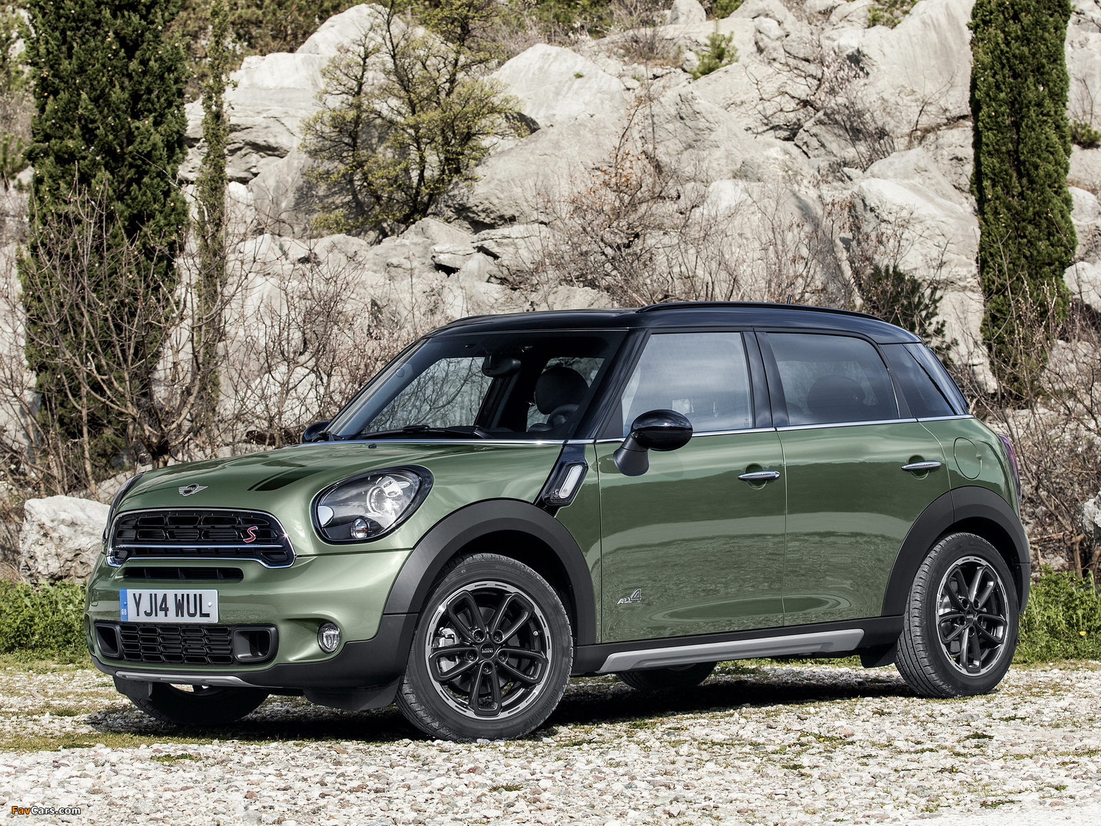 Mini Cooper SD Countryman All4 (R60) 2014 pictures (1600 x 1200)