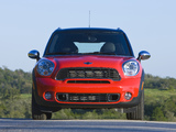 Photos of Mini Cooper S Countryman US-spec (R60) 2010–13