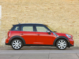 Mini Cooper S Countryman US-spec (R60) 2010–13 wallpapers