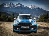 MINI Cooper S Countryman ALL4 Exterior Optic Pack (F60) 2017 wallpapers