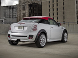 Images of MINI John Cooper Works Coupe US-spec (R58) 2011