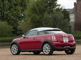 Images of MINI Cooper S Coupe US-spec (R58) 2011