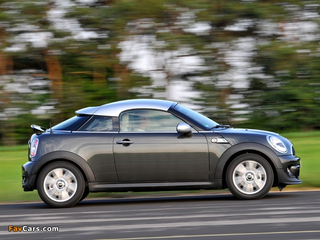 Images of MINI Cooper SD Coupe (R58) 2011 (640 x 480)