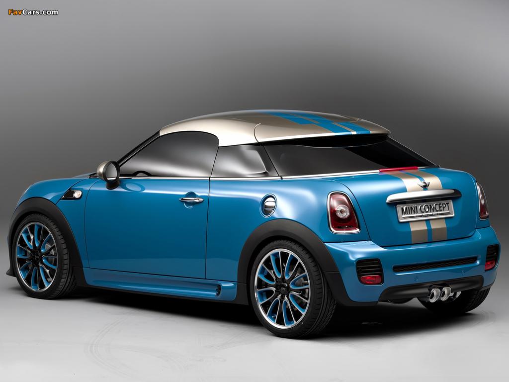 MINI Coupe Concept (R58) 2009 images (1024 x 768)