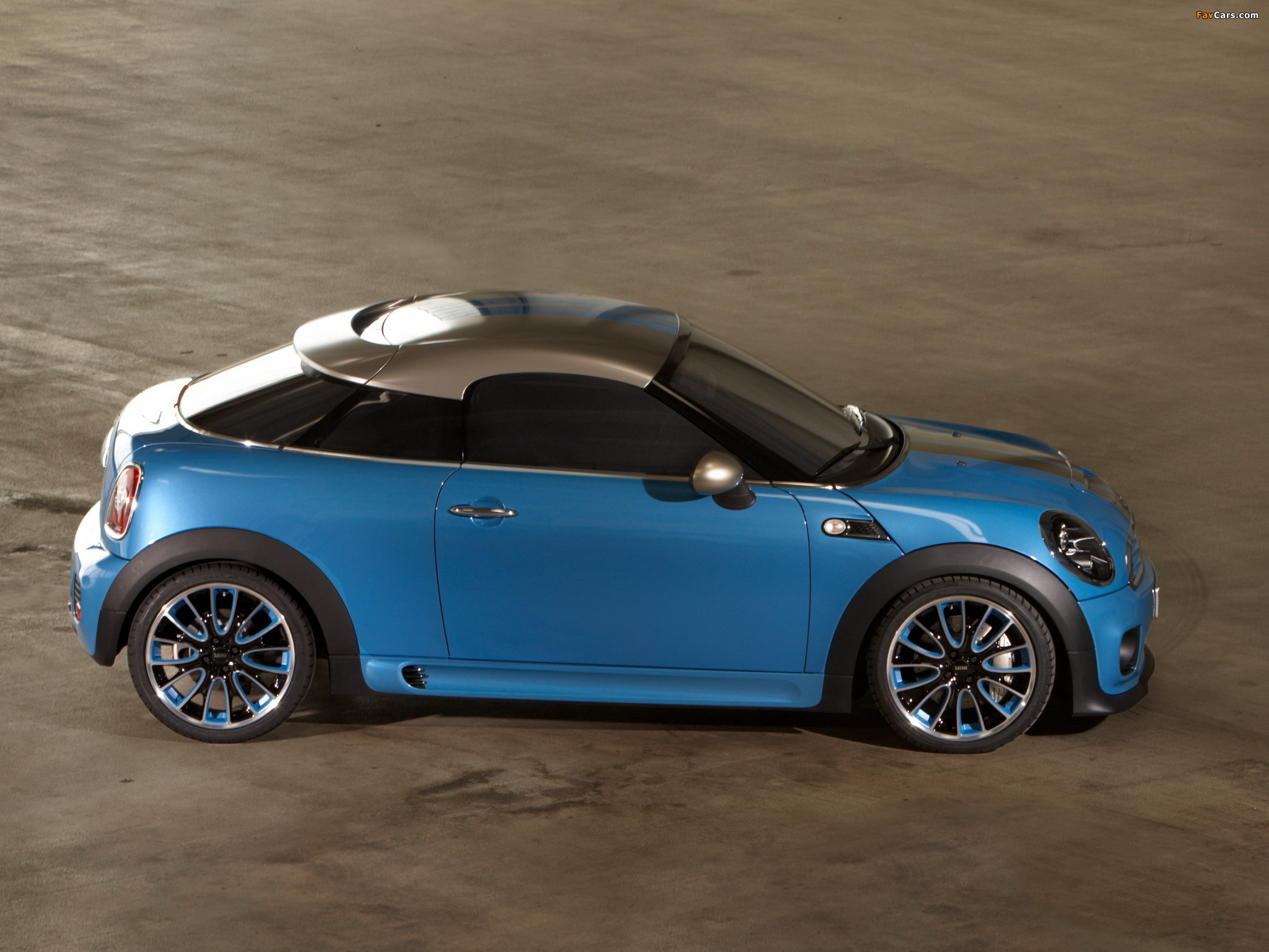 MINI Coupe Concept (R58) 2009 images (2048 x 1536)