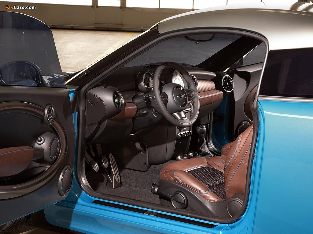MINI Coupe Concept (R58) 2009 pictures (1024 x 768)