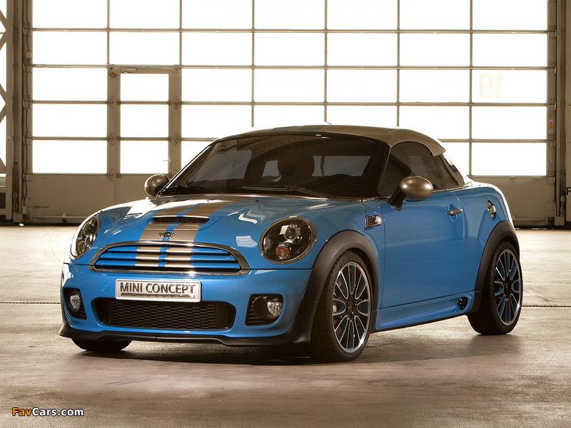 MINI Coupe Concept (R58) 2009 pictures (800 x 600)
