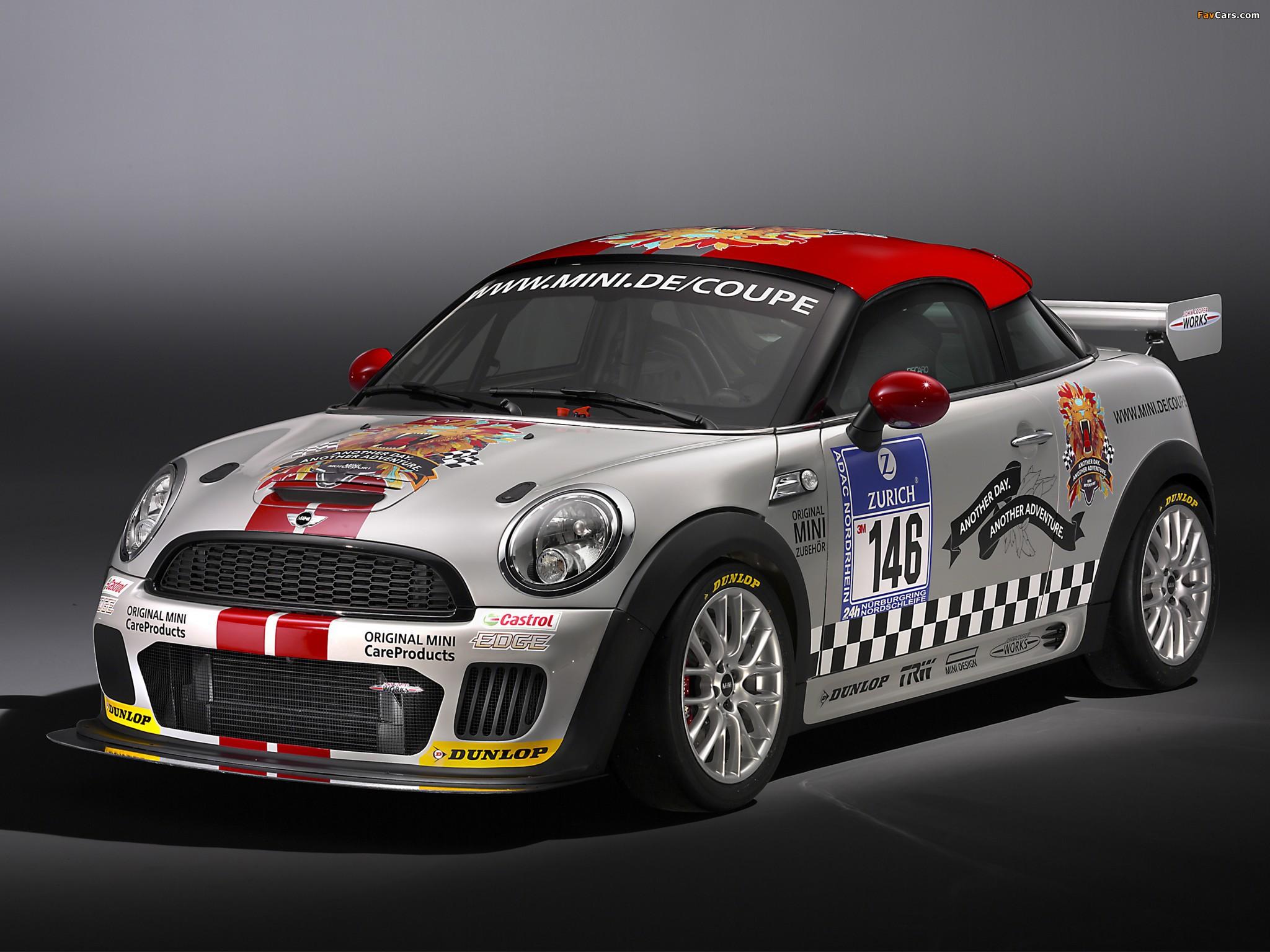 MINI John Cooper Works Coupe Endurance (R58) 2011 images (2048 x 1536)