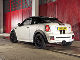 MINI John Cooper Works Coupe UK-spec (R58) 2011 images
