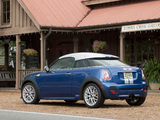 MINI John Cooper Works Coupe US-spec (R58) 2011 images