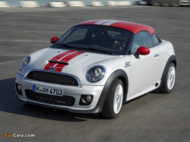 MINI John Cooper Works Coupe (R58) 2011 images (640 x 480)
