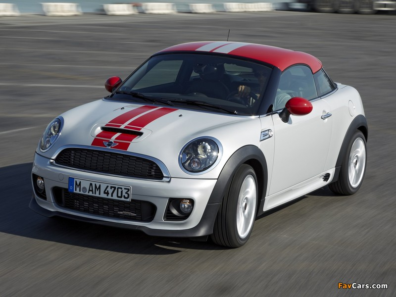 MINI John Cooper Works Coupe (R58) 2011 images (800 x 600)