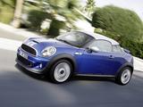 MINI Cooper S Coupe (R58) 2011 pictures