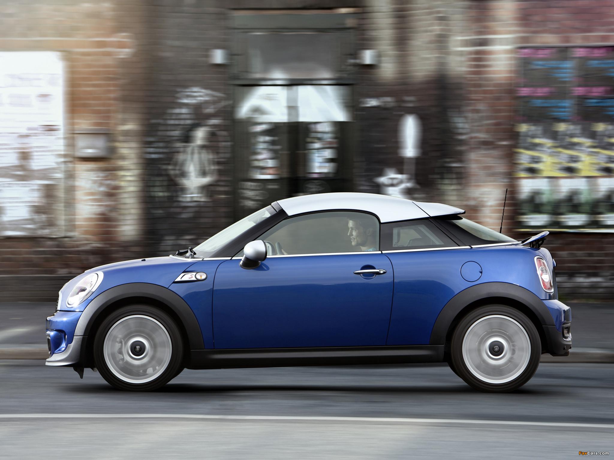 MINI Cooper S Coupe (R58) 2011 pictures (2048 x 1536)
