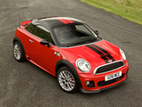 MINI John Cooper Works Coupe UK-spec (R58) 2011 pictures