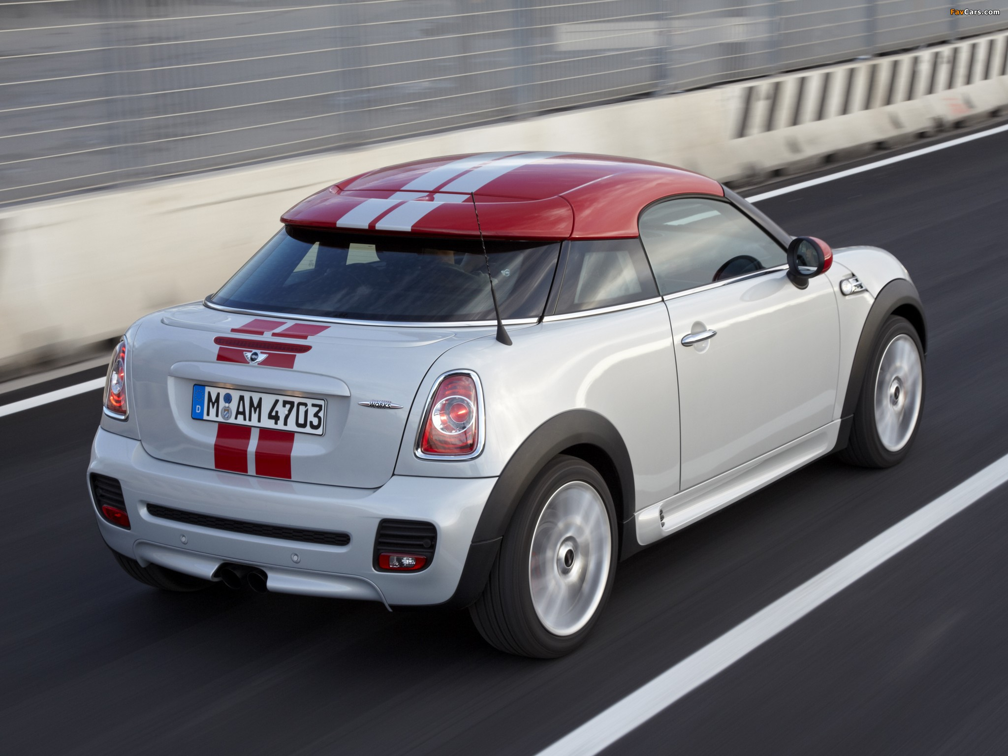 MINI John Cooper Works Coupe (R58) 2011 wallpapers (2048 x 1536)