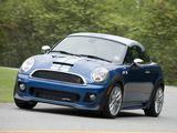 Photos of MINI John Cooper Works Coupe US-spec (R58) 2011