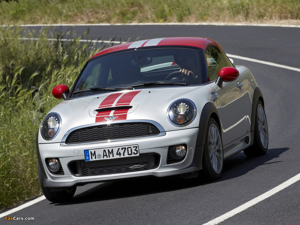 Photos of MINI John Cooper Works Coupe (R58) 2011 (1024 x 768)
