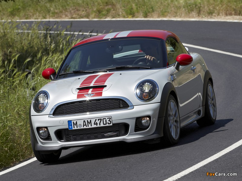 Photos of MINI John Cooper Works Coupe (R58) 2011 (800 x 600)