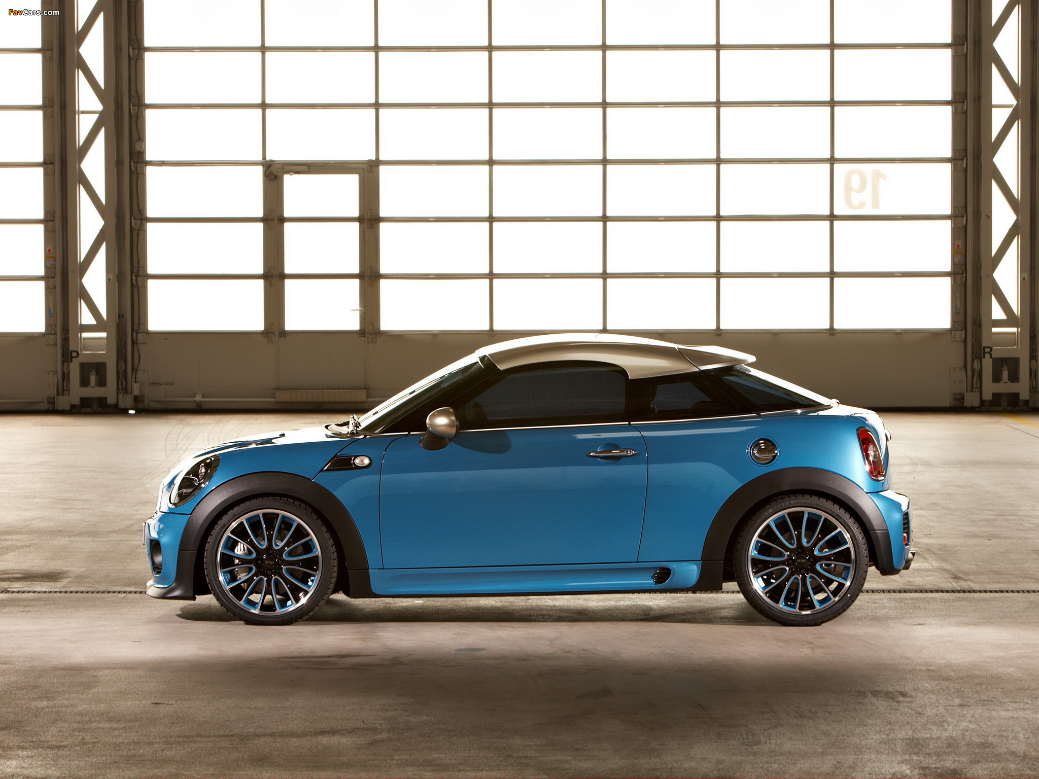 MINI Coupe Concept (R58) 2009 wallpapers (2048 x 1536)