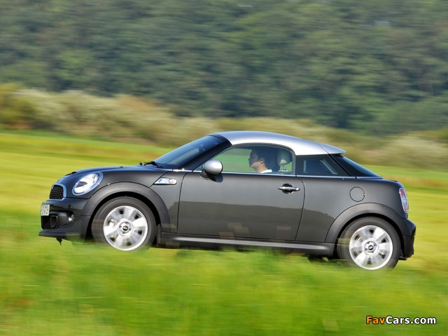 MINI Cooper SD Coupe (R58) 2011 wallpapers (640 x 480)