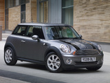 Mini Cooper Graphite (R56) 2009 wallpapers