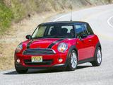 Mini Cooper US-spec (R56) 2010–14 pictures