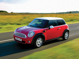 Photos of Mini Cooper UK-spec (R56) 2006–10