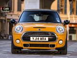 Photos of Mini Cooper S UK-spec (F56) 2014