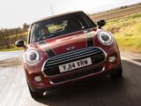 Photos of Mini Cooper D UK-spec (F56) 2014