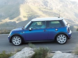 Pictures of Mini Cooper S (R53) 2004–06