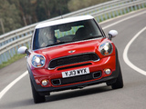 Pictures of MINI Cooper S Paceman UK-spec (R61) 2013