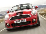 MINI Cooper S Roadster UK-spec (R59) 2012 pictures