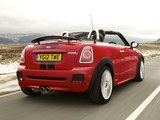 MINI Cooper S Roadster UK-spec (R59) 2012 wallpapers