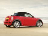 MINI Cooper S Roadster UK-spec (R59) 2012 wallpapers